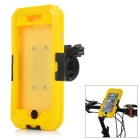 Anti-Dust Anti-Shock Bike Mounted Touch Screen Waterproof Case for IPHONE 6 PLUS - Black + Yellow