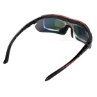 CTSmart PC Polarized Sunglasses w/ Replacement Lenses Set - Multicolor