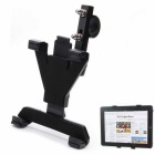 "Alumiini Alloy auton Mount haltijalle jalusta 7 ~ 10"" GPS / Tablet PC - musta"
