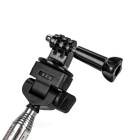 Retractable Selfie Monopod, Long Bolt, Adapter for GoPro, Xiaomi