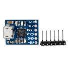 CJMCU CP2102 USB to TTL Serial Port UART STC Downloader - Blue