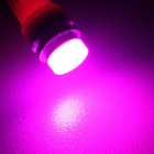 MZ T10 5W COB LED Car Clearance Lamp Pink Light 450nm 300lm - Pink