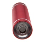 Ultrafire 3W LED White Steady on Water Resistant Flashlight - Red