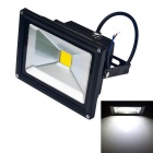 JIAWEN Waterproof 20W LED Floodlight White Light 6500K 1700lm - Black (DC 12V)