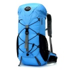 Outdoor Travel Cycling Nylon Double-Shoulder Bag Backpack - Blue