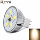 ZHISHUNJIA MR16 5W LED Lamp Bulb Warm White Light 15-SMD - Silver