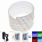 30W RGB 5050-SMD 120 LED Waterproof 1500lm LED Light Strips / Remote Control / Transformer (200cm)