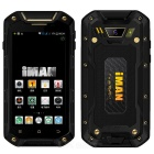 "iMAN i5800C Android 4.4 Quad-core 3G Rugged Phone w/ 4.5"" IPS HD, 8GB ROM, WiFi, GPS, IP67, 5.0MP"