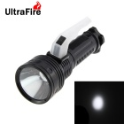 Ultrafire 1-LED 200lm White Light 3W 3-Mode Bright Flashlight - Black