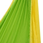 Sunfield Two-Person Nylon Outdoor Camping Hammock - Green