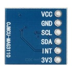 MAG3110 Triple Axis Magnetometer Breakout Module - Blue