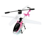 MJXR/C T38 3-CH Alloy Mini UAV R/C Helicopter w/ Gyro - Deep Pink + White