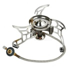 Resolutes Fire Split-Type Outdoor Camping Gas Stove Burner - Grey