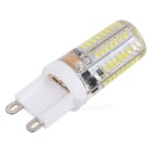G9 5W Cold White Light 64-SMD LED Crystal Lamp Bulb (220~240V / 5 PCS)