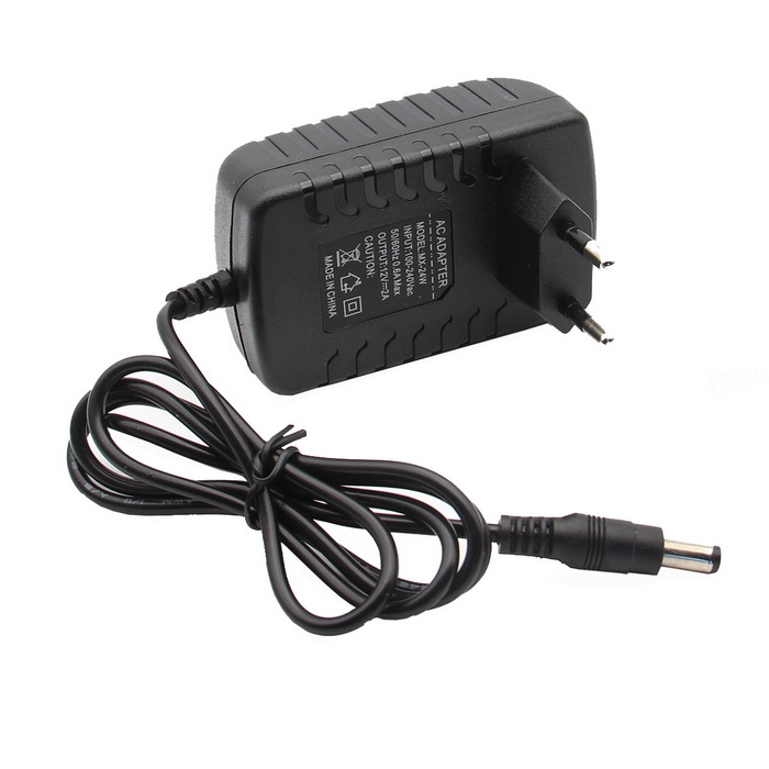 "DC 12V 2A Power Adapter for Raspberry Pi 7"" / 10"" LCD Series"