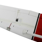 2.4GHz 5-CH R/C Sky Trainer Plane Airplane Toy - White + Red (PNP Kit)