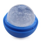 Silicone Ice Cube Tray Mold Maker Ice Ball Mold for Bar Party - Blue