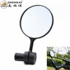 ZHISHUNJIA Universal 360-Degree Swivel Bike Bicycle Rearview Mirror w/ Mount - Black (Pair)