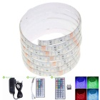 2m Waterproof 30W LED Light Strip RGB 120-5050 SMD 1500lm w/ 44-Key Remote Control / US Adapter
