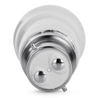 E27 a B22 Adaptadores bulbo de la lámpara LED - Blanco Gris Plata (4PCS)