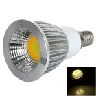 E14 4W Color Temperature Adjustable COB LED Spotlight Warm White / White 100lm - Silver (AC 85~265V)