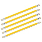 15W COB modules lumière LED blanc chaud 1100lm - argent + orange (5PCS)