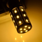 E14 5W LED mais lamper varm hvit 300lm 24-SMD - hvit + orange (3pcs)