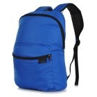 Decathlon Outdoor Travel Polyester + Nylon Double-Shoulder Bag Schoolbag Backpack - Blue (17L)