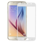 Mini Smile 0.26mm Tempered Glass Full Screen Protector Guard for Samsung Galaxy S6 - White
