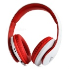 SOUND INTONE NK850 Wireless Bluetooth v4.0 Sports Stereo Headphones w/ TF, Microphone - White + Red