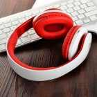 SOUND INTONE NK850 Bluetooth Sports Headphone w/ TF, Mic - White + Red