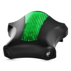 Bicycle 5-LED 7-Mode Green Light 2*Red Laser Tail Light - Green