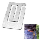 EDCGEAR Multifunctional Titanium Alloy Money Card Bill Clip - Silver