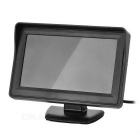 "Universal 4.3"" Car Rearview Displayer Monitor + CMOS Camera Set - Black"