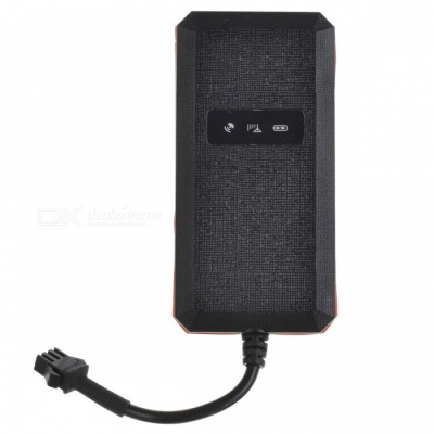 GT002 Motorcycle Anti-Theft GPS Tracker Tracking System - Black