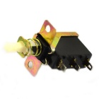 Jtron 3-Pin Push Button Switch - Bronze (4PCS)