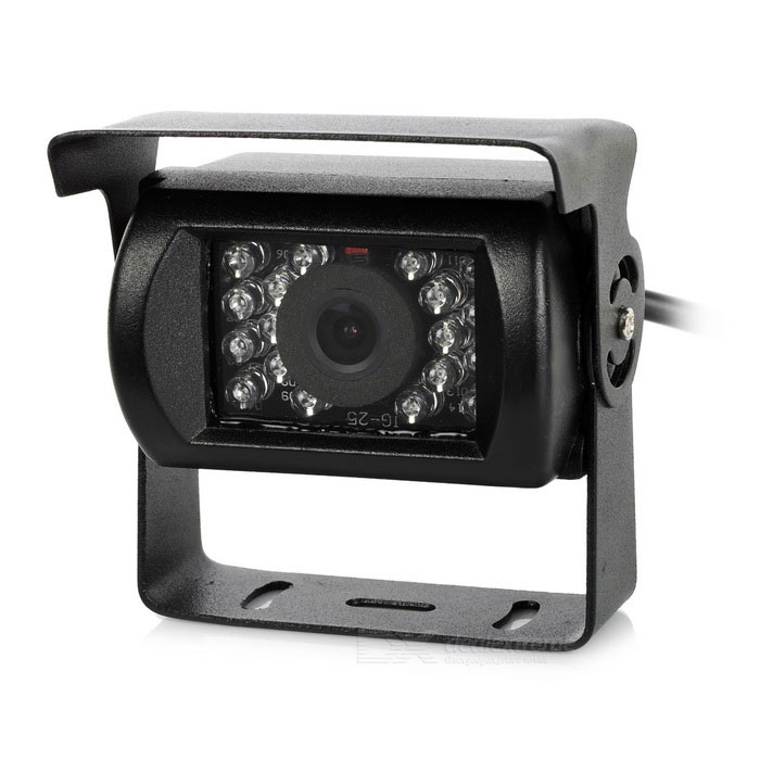 CCD 170' 0.6MP Car Rearview Camera IR Night Vision for Bus Lorry Truck