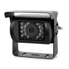 CCD HD 170' Wide-Angle 0.6MP Car Backup Rearview Camera w/ IR Night Vision for Bus, Lorry, Truck