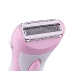 Body Legs Feet Depilation Electric Razor Shaver - Pink + White