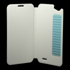 VKWORLD PU Leather Case Cover for VKWORLD VK700 - White