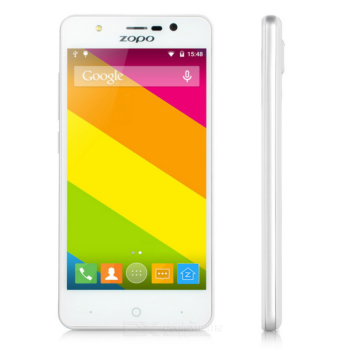 "ZOPO ZP330 MTK6735 Quad-Core Android 5.1 4G FDD-LTE Bar Phone w/ 4.5"" Screen, ROM 8GB, Wi-Fi - White"