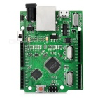 UNO R3-Brett-Modul + Ethernet-Schild W5100 Modul integriert Board for Arduino - Green