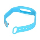 Replacement Silicone Wrist Band for Xiaomi Smart Bracelet - Blue