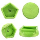 AoTu AT6622 Travel Folding Water Container Bucket Washbowl - Green