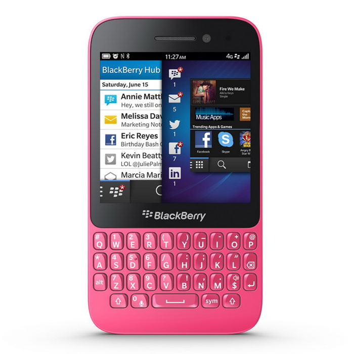 Genuine Blackberry Q5 4G 8GB – Pink