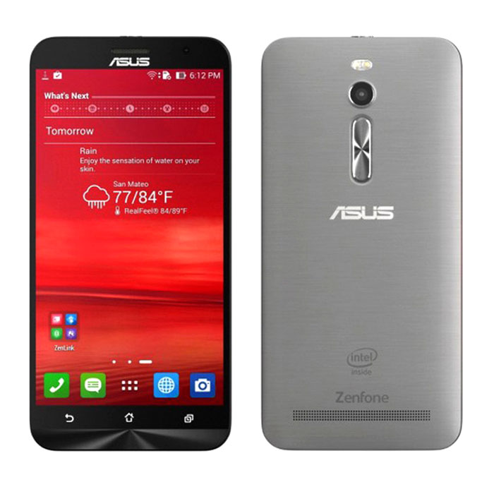Genuine Asus ZE551ML ZenFone2 4G LTE, 32GB, 4GB RAM Dual SIM Phone – Silvery Grey