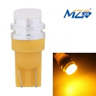 MZ T10 5W Yellow Light 577nm 300lm COB LED Car Clearance Lamp (12V)
