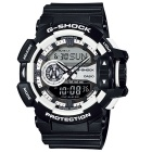 Genuine Casio G-Shock GA-400-1AER Men's Digital Watch - Black + White