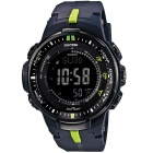Genuine Casio Pro Trek PRW-3000-2DR Multi-Color Dial Sport Watch - Black