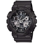 Genuine Casio G-Shock Camouflage Series GA-100CF-8AER Men's Analog-Digital Watch - Black